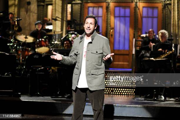 LIVE Adam Sandler Episode 1765 Pictured Host Adam Sandler during the I Was Fired Monologue on Saturday May 4 2019