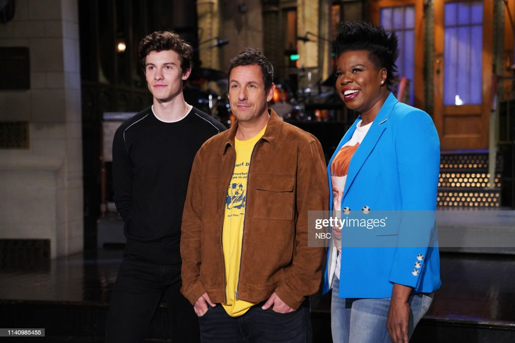 "NY: NBC'S ""Saturday Night Live"" - Adam Sandler, Shawn Mendes"