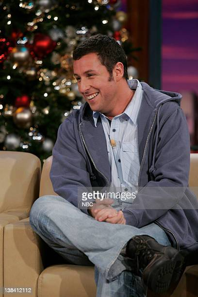 the tonight show with jay leno adam sandler pictures getty images - Adam Sandler Christmas