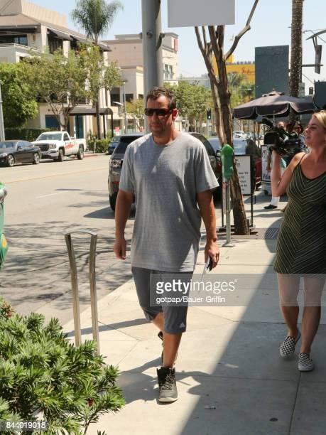 Adam Sandler is seen on September 07 2017 in Los Angeles California
