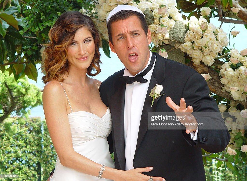 Adam Sandler and Jackie Titone's Wedding Images : News Photo