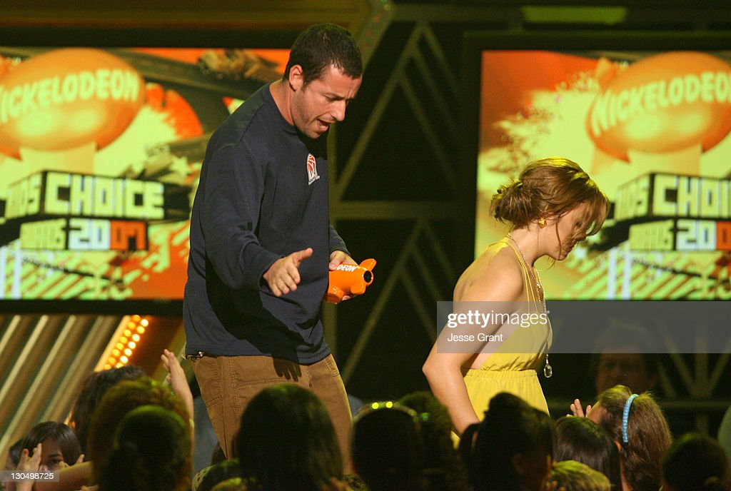 Adam Sandler, winner Favorite Male Movie Star for 'Click