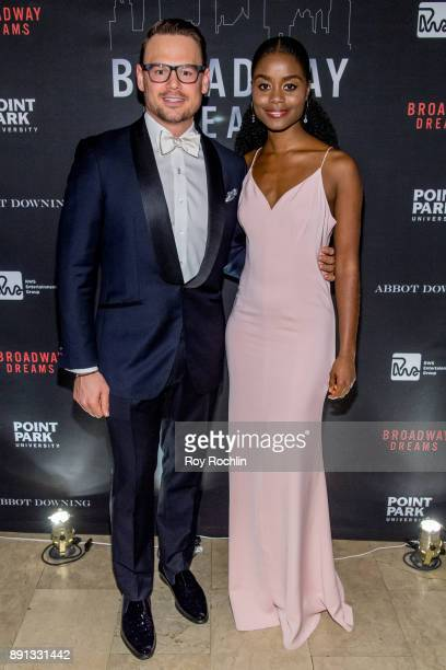 Adam Sansiveri and Dene Benton attends the10th Annual Broadway Dreams Supper at The Plaza Hotel on December 12 2017 in New York City