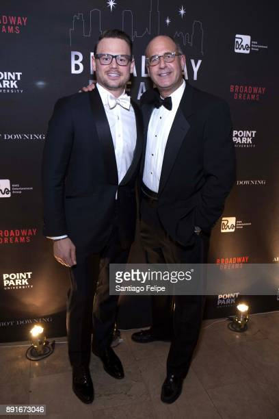 Adam Sansiveri and Len Hersh attend 10th Annual Broadway Dreams Supper at The Plaza Hotel on December 12 2017 in New York City