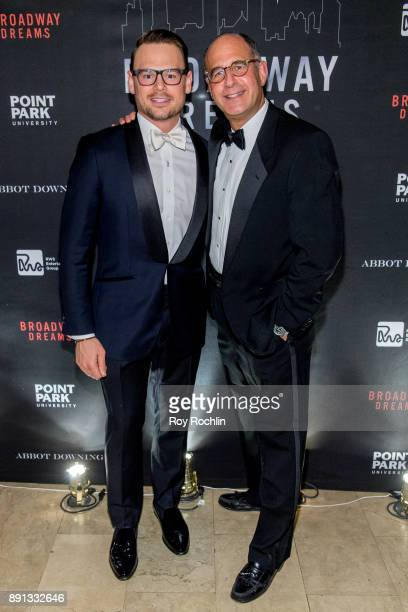 Adam Sansiveri and Len Hersh attends the10th Annual Broadway Dreams Supper at The Plaza Hotel on December 12 2017 in New York City
