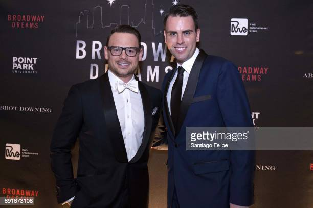 Adam Sansiveri and Ryan Stana attend the 10th Annual Broadway Dreams Supper at The Plaza Hotel on December 12 2017 in New York City