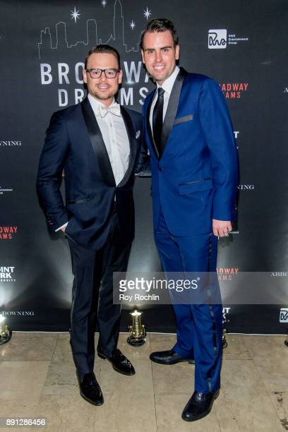Adam Sansiveri and Ryan Stana attend the10th Annual Broadway Dreams Supper at The Plaza Hotel on December 12 2017 in New York City