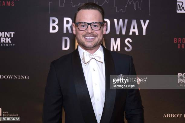Adam Sansiveri attends the 10th Annual Broadway Dreams Supper at The Plaza Hotel on December 12 2017 in New York City