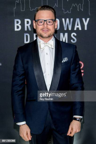 Adam Sansiveri attends the10th Annual Broadway Dreams Supper at The Plaza Hotel on December 12 2017 in New York City