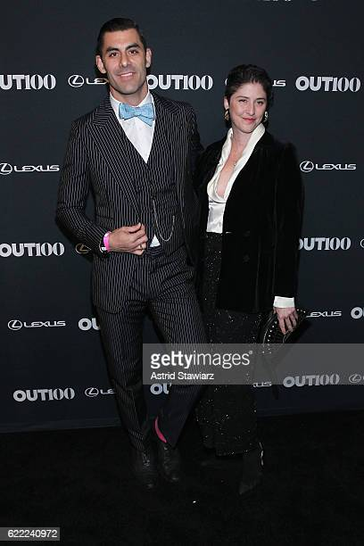 Adam SantosCoy attends the 2016 OUT100 Gala at Metropolitan West on November 10 2016 in New York City