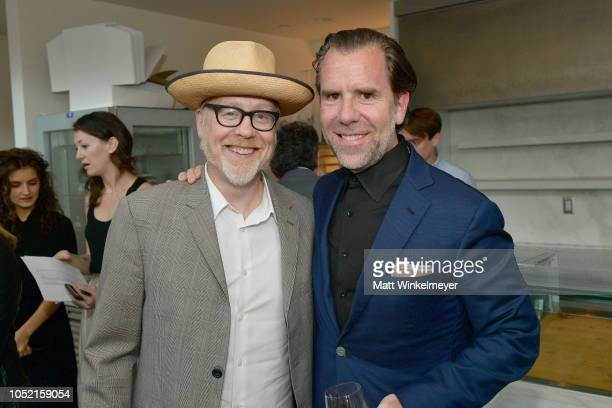 Adam Savage and Scott Dadich attend VIP Dinner For WIRED's 25th Anniversary Hosted By Nicholas Thompson And Anna Wintour at Tartine Manufactory on...