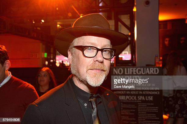 Adam Savage attends Entertainment Weekly's ComicCon Bash held at Float Hard Rock Hotel San Diego on July 23 2016 in San Diego California sponsored by...