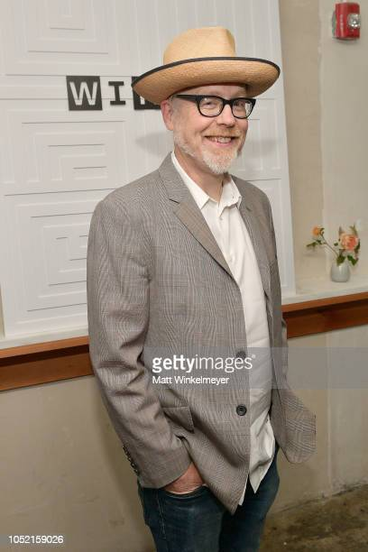 Adam Savage attends VIP Dinner For WIRED's 25th Anniversary Hosted By Nicholas Thompson And Anna Wintour at Tartine Manufactory on October 14 2018 in...