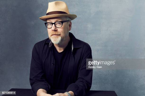 Adam Savage of 'Mythbusters' poses for a portrait during ComicCon 2017 at Hard Rock Hotel San Diego on July 20 2017 in San Diego California