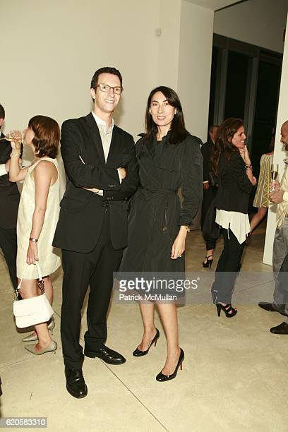 Adam Scheffer and Ann Duong attend LOUIS XIII Celebrates WALLPAPER'S Guest Editor LOUISE BOURGEOISE with HELMUT LANG at Cheim Reid and Glasshouses on...