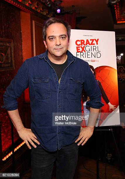 Adam Schlesinger attends the 'Crazy ExGirlfriend' Live Event at the Feinstein's/54 Below on November 3 2016 in New York City