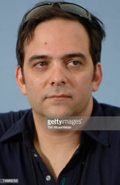 Adam Schlesinger of the Fountains of Wayne attends the press conference at the Bonnaroo Music Festival on June 16 2007 in Manchester Tennessee