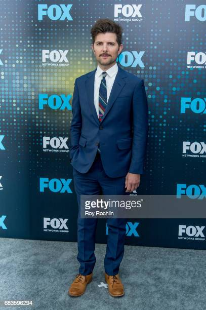 Adam Scott attends the 2017 FOX Upfront at Wollman Rink Central Park on May 15 2017 in New York City