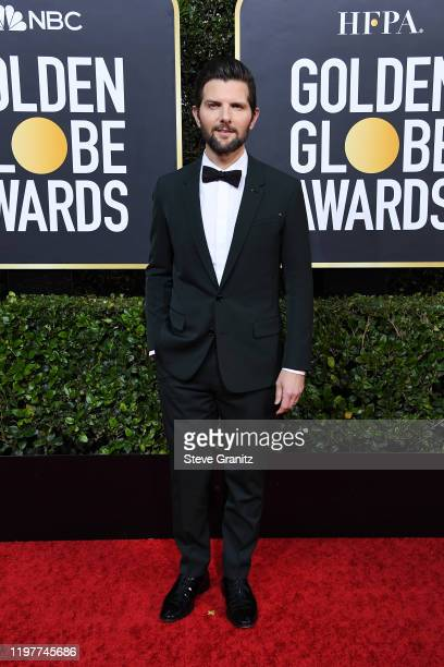 Adam Scott attends the 77th Annual Golden Globe Awards at The Beverly Hilton Hotel on January 05 2020 in Beverly Hills California