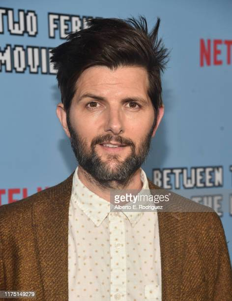 Adam Scott attends the premiere of Netflix's Between Two Ferns The Movie at ArcLight Hollywood on September 16 2019 in Hollywood California