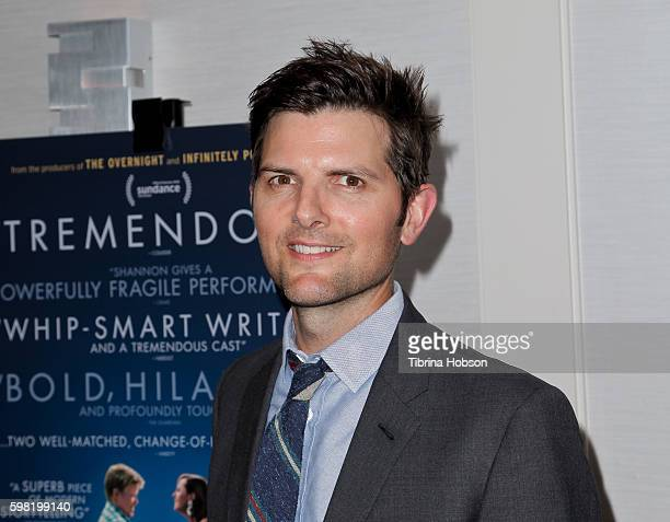 Adam Scott attends the Premiere of Vertical Entertainment's 'Other People' at The London West Hollywood on August 31 2016 in West Hollywood California