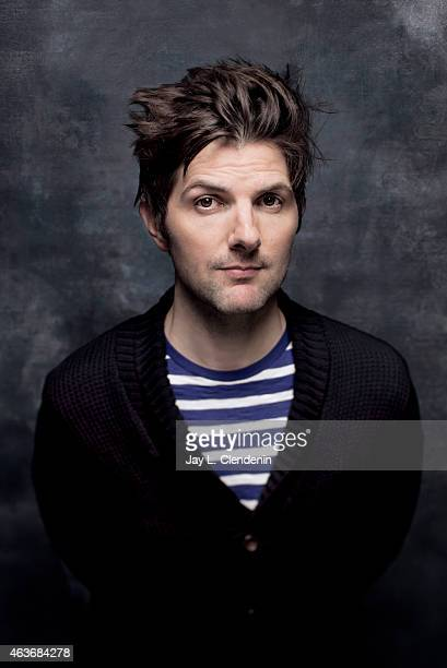 Adam Scott is photographed for Los Angeles Times on January 24 2015 in Park City Utah PUBLISHED IMAGE CREDIT MUST READ Jay L Clendenin/Los Angeles...