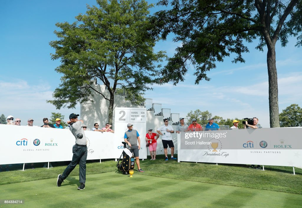 Presidents Cup - Preview Day 2 : News Photo
