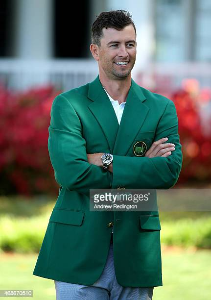 Adam Scott of Australia former Masters Champion is pictured prior to presenting prizes to the winners of the Girls 1011 division for the Drive Chip...