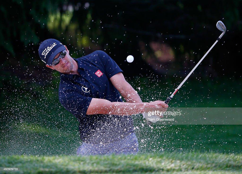 World Golf Championships-Bridgestone Invitational - Preview Day 3 : News Photo