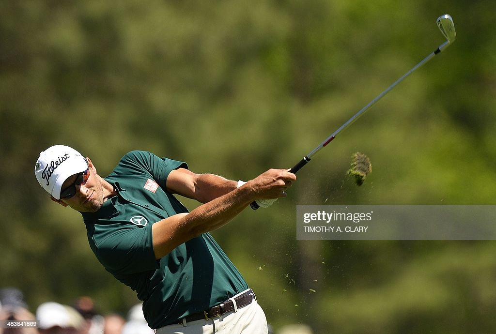 GOLF-US-MASTERS-ROUND1 : News Photo