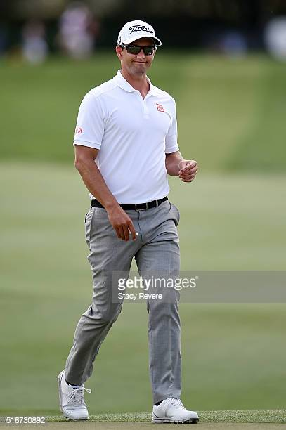 Adam Scott of Australia walks to the second green during the final round of the Arnold Palmer Invitational Presented by MasterCard at Bay Hill Club...