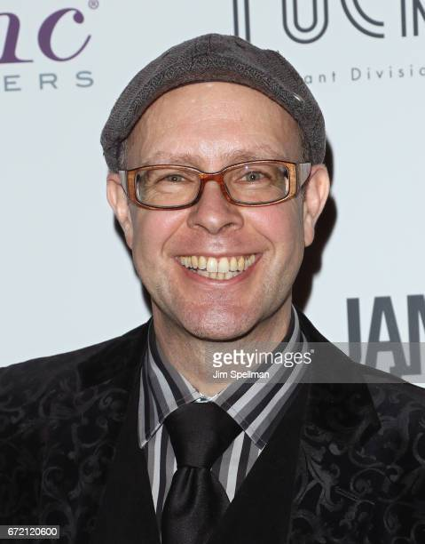 """Adam Seger attends the """"James Beard: America's First Foodie"""" NYC premiere at iPic Fulton Market on April 23, 2017 in New York City."""