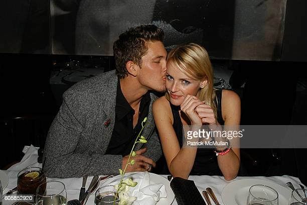 Adam Senn and Elvira Egmon attend ITALO ZUCCHELLI and CALVIN KLEIN COLLECTION Host a Dinner Celebrating VMan and the Boys of Wilhelmina 2007 Calendar...