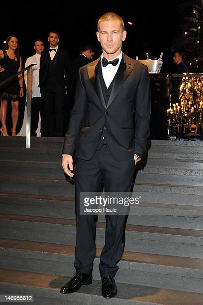 Adam Senn attends Dolce Gabbana Event during Milan Fashion Week Menswear Spring/Summer 2013 on June 24 2012 in Milan Italy
