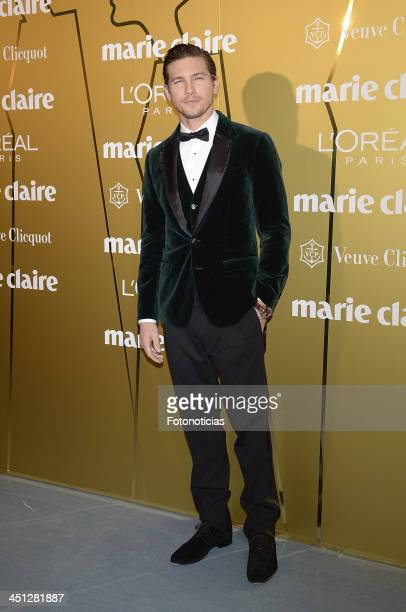 Adam Senn attends 'Marie Claire Prix de la Moda' 2013 at the French Ambassador residence on November 21 2013 in Madrid Spain