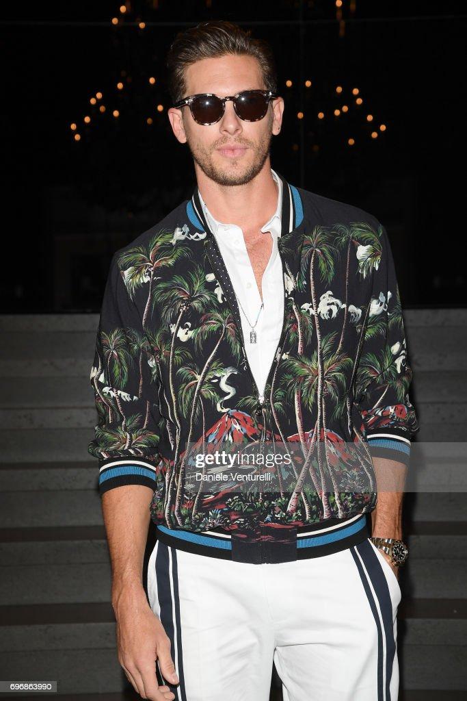 Dolce & Gabbana - Front Row - Milan Men's Fashion Week Spring/Summer 2018