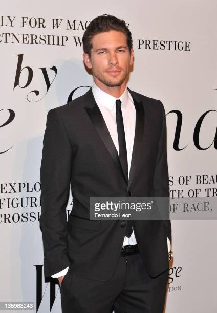 Adam Senn attends the The Ever Changing Face of Beauty video installation by Solve Sundsbo opening reception hosted by Stefano Tonchi Editor in Chief...