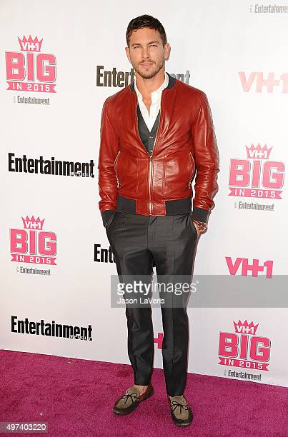 Adam Senn attends the VH1 Big In 2015 with Entertainment Weekly Awards at Pacific Design Center on November 15 2015 in West Hollywood California