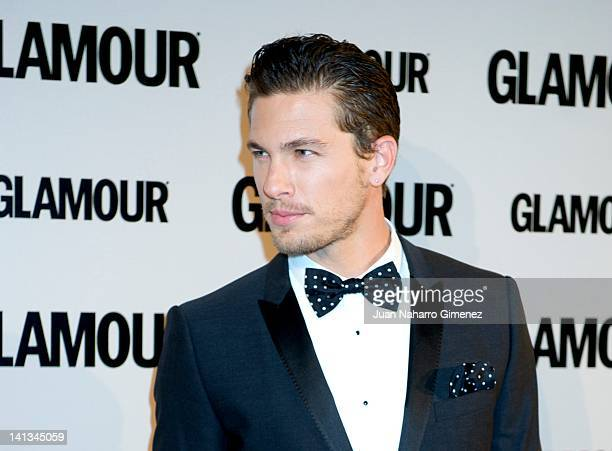 Adam Senn attends X Glamour Beauty Awards at Pacha Club on March 14 2012 in Madrid Spain