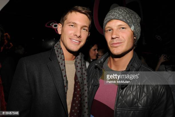 Adam Senn Johnny Beyer attend MAC Cosmetics and V Magazine Celebrate the Launch of MAC Hello Kitty Collection at Cedar Lake on February 5 2009 in New...
