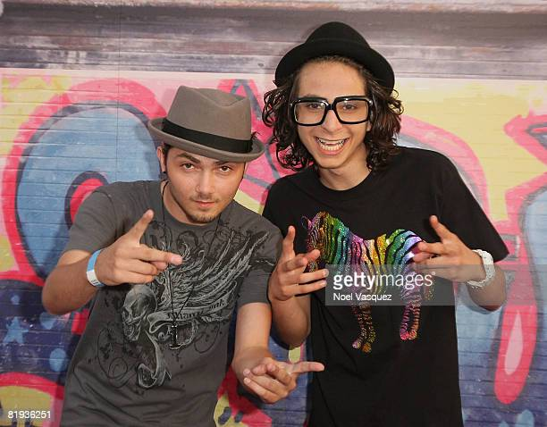 Adam Sevani attends the Step Up 2 The Streets DVD Release Party at the Avalon on July 14 2008 in Los Angeles California