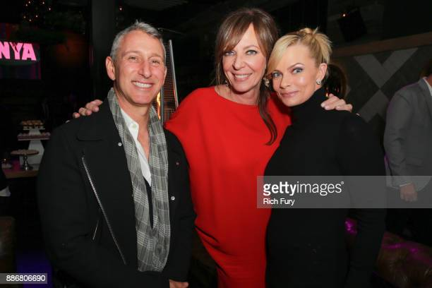 Adam Shankman Allison Janney and Jaime Pressly attend the after party for the premiere of Neon and 30 West's 'I Tonya' on December 5 2017 in...