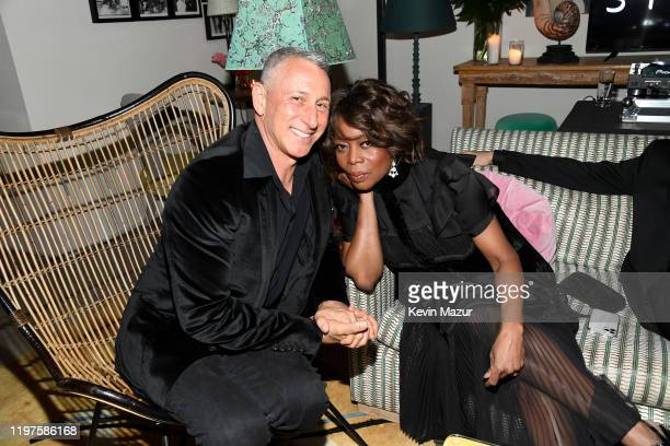 Adam Shankman and Alfre Woodard attend Vanity Fair Amazon Studios and Audi Celebrate The 2020 Awards Season at San Vicente Bungalows on January 04...