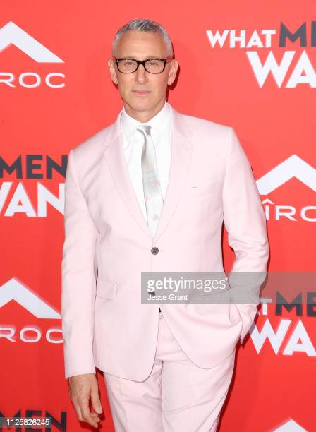 Adam Shankman attends Paramount Pictures' 'What Men Want' Premiere at Regency Village Theatre on January 28 2019 in Westwood California