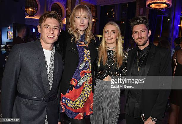 Adam Shapiro Jade Parfitt Alice Holland and Henry Holland attend the STYLE x PRINCIPAL Party at The Principal Manchester on November 3 2016 in...