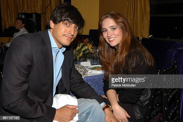 Adam Shugar and Gillian HearstShaw attend An Art Deco Supper Dance to Celebrate the Birthday of R Couri Hay and Sam Bolton at Salon on April 21 2005...