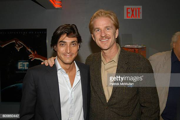 Adam Shugar and Matthew Modine attend KETTLE OF FISH NYC PREMIERE at AMC Loews Village 7 on October 4 2006 in New York City