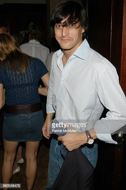 Adam Shugar attends Rocawear and Vanity Fair celebrate Fashion Week with JayZ at Fredericks on September 13 2005 in New York City