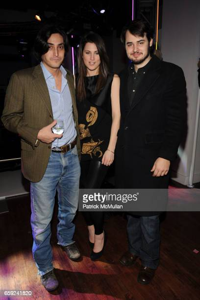 Adam Shugar Davina Catt and Jack Bryan attend VOGUE and BMW party to celebrate the new 2009 BMW 7 Series with Free Arts NYC at 122 West 26th Street...