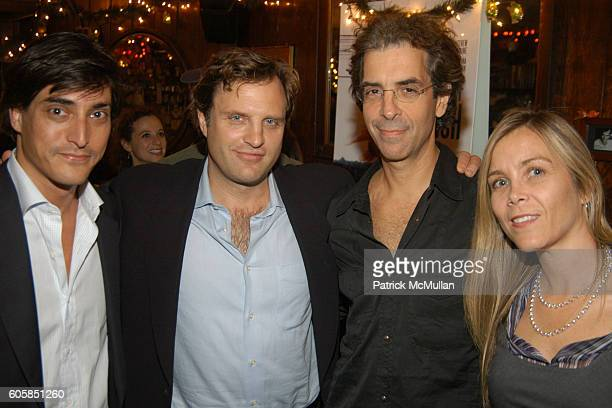 Adam Shugar Michael Mailer Mitchell Blutt and Margo Blutt attend KETTLE OF FISH NYC PREMIERE After Party at Kettle of Fish on October 4 2006 in New...